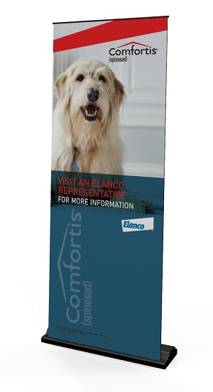 Comfortis USCACCMF00349  Pull Up Banner Stand