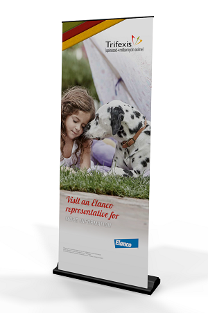 Trifexis Pull Up Banner Stand